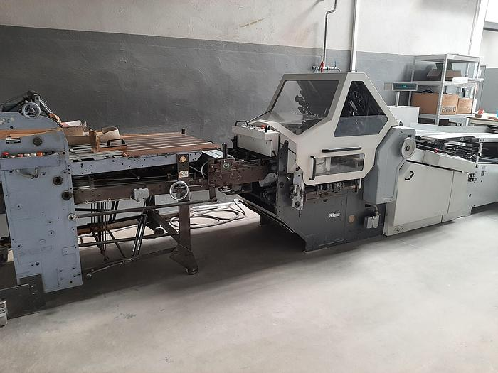 Used Folding machine Heidelberg KD-66.1-6 KTL-RD
