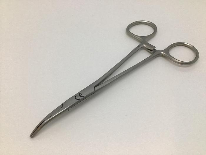 Forceps Artery Halsted Mosquito Curved 125mm (5in)