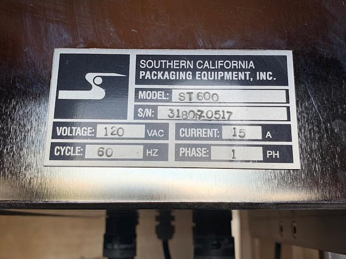 2016 Southern California Packaging Equipment ST-600