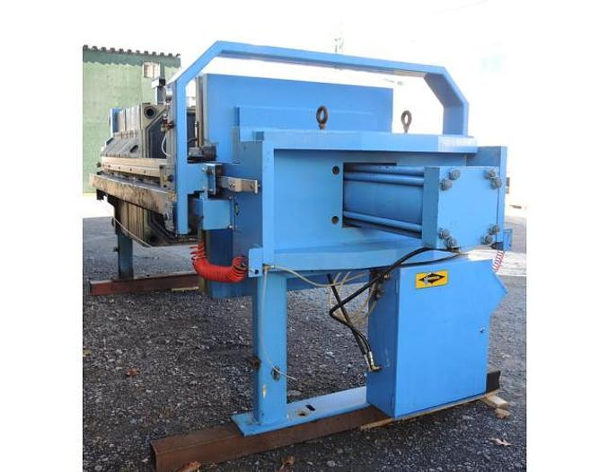 USED FILTER PRESS, RECESSED PLATE, GASKETED, 1200 MM X 1200 MM, POLYPROPYLENE