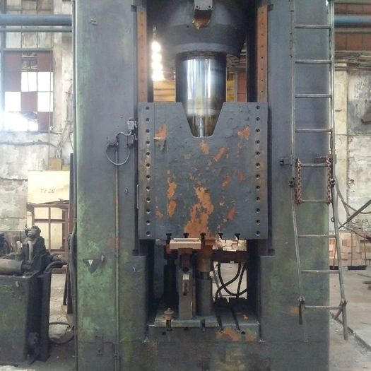 1975 Hydraulik forging press Lasco VPA 630