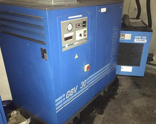 Used COMPRESSOR BOTTARINI GBV/30