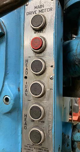 "CARLTON 4' X 13"" COLUMN RADIAL DRILL WITH 3A PRE-SELECT HEAD"