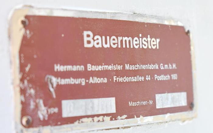 USED BAUERMEISTER UNIVERSAL MILL, MODEL UZU 11