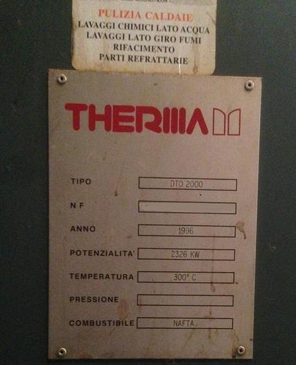 BOILER THERMA DTO 2000