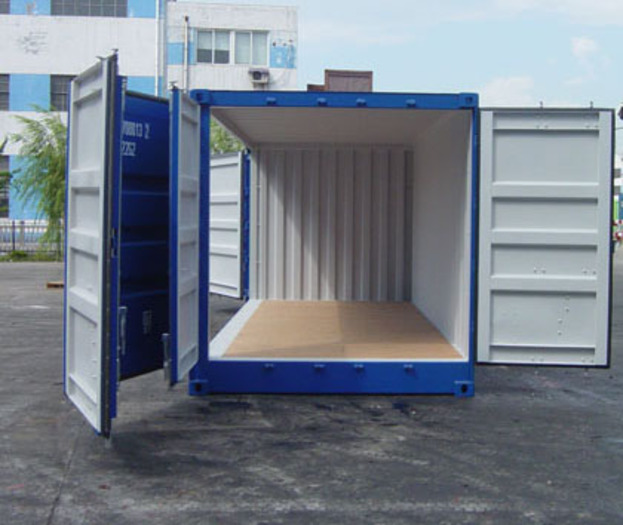"20 'Container 8'6 ""Open Left side"