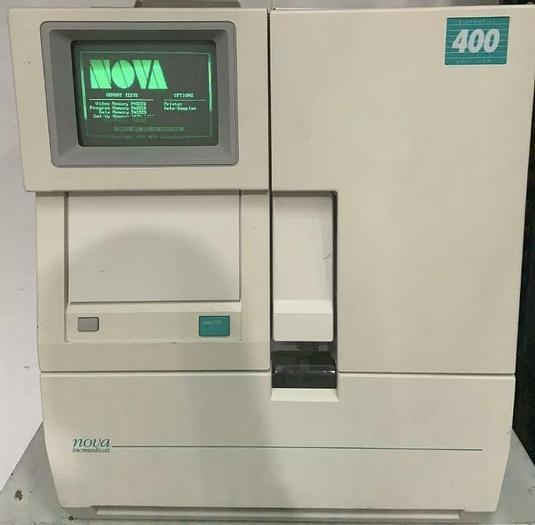 Used Nova Biomedical BioProfile 400 Analyzer