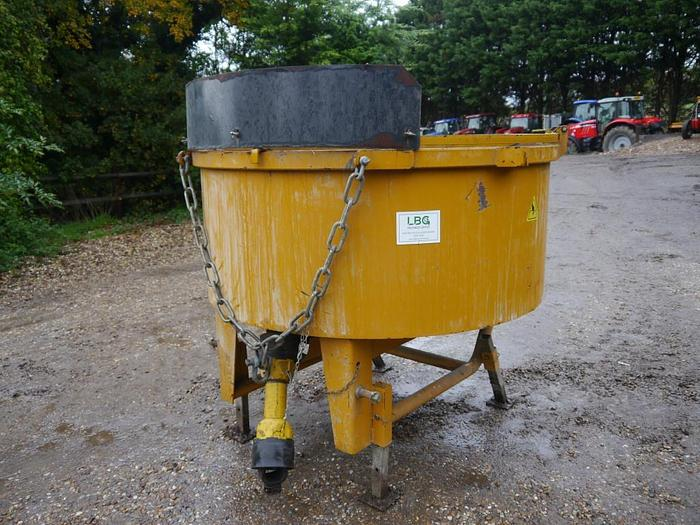 Used Mammut TM150 Pan Cement Mixer