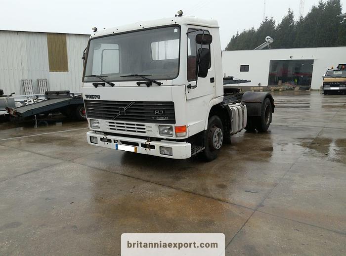 Used 1986 VOLVO FL7 260 Intercooler tractor unit