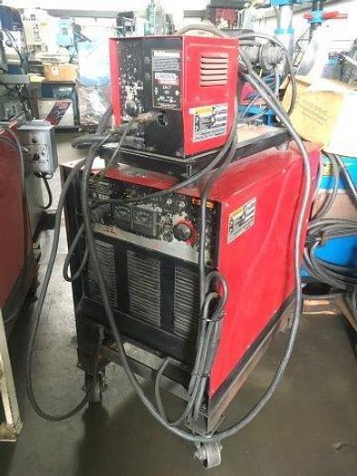 Used 400 Amp, LINCOLN, CV-400 IDEALARC MIG, LN7 WIRE FEEDER [4803]
