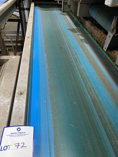 Used Steel Conveyor belt 2.8m L 0.7m W