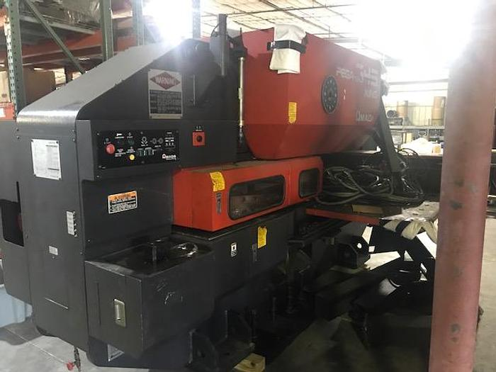 1995 33 Ton Amada Pega 345 King CNC Turret Punch