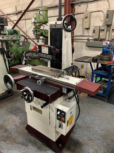"""Used 6"""" X 18"""", CHEVALIER, FSG-618M, MANUAL SURFACE GRINDER"""