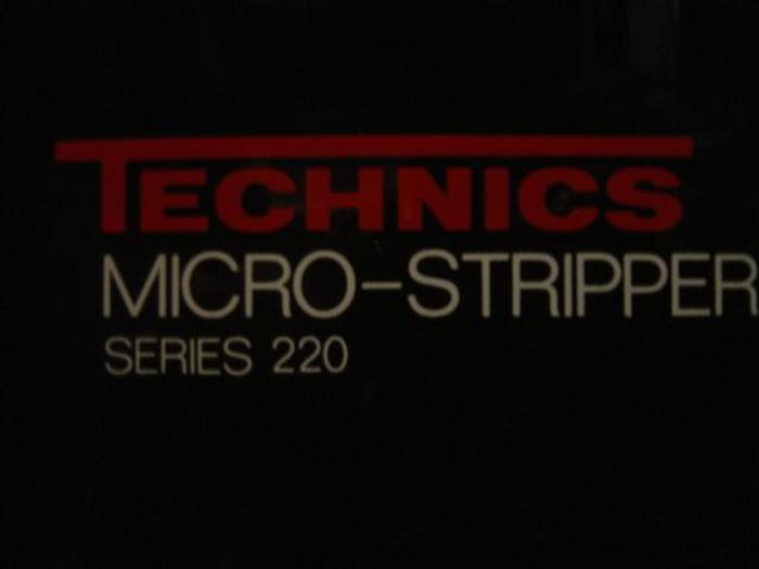 Used Technics  Micro Stripper Series 220 Plasma System