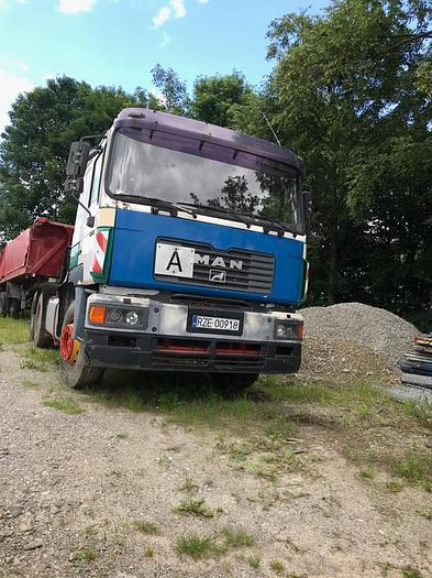 Used 1997 MAN 33.463 6X4 FULL STEEL , MANUAL GEARBOX, EURO 2
