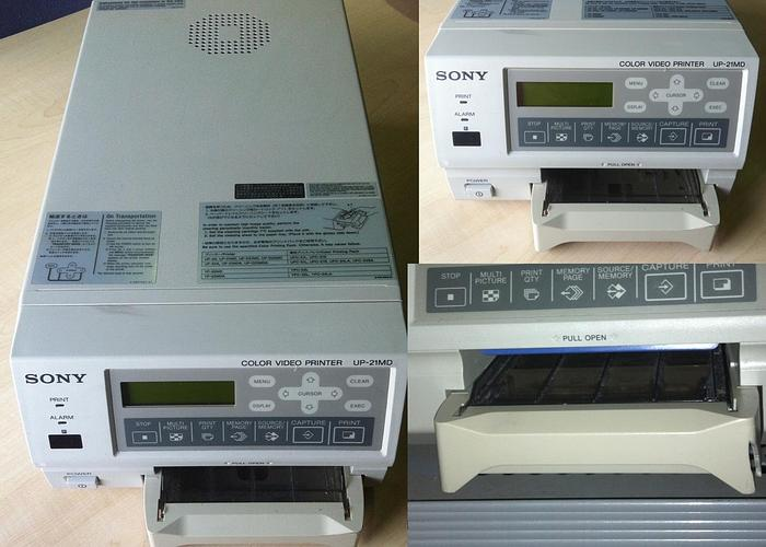 Gebraucht SONY Color Video Printer Drucker UP-21MD