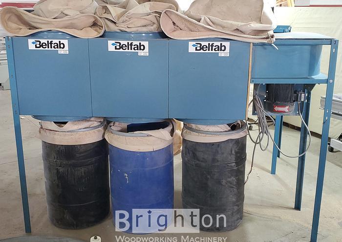 Belfab YDLWFAN 5HP Dust Collector
