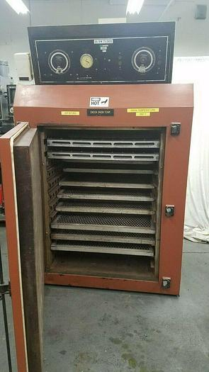 Used Blue M Oven with racks Max 400 F Circulating Heat Drying Curing Great Condition!