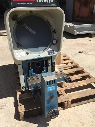 "Used 14"" Deltronics Mdl. DH-14 Optical Comparator"