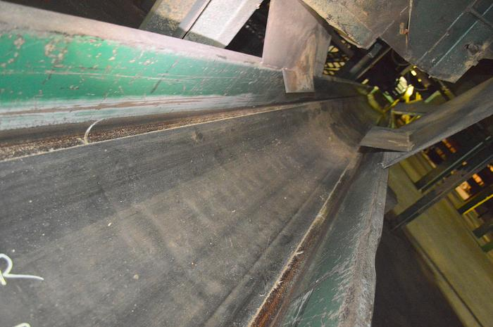 Used 24 inch trough belt conveyor 150ft+long