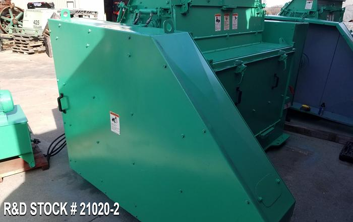 Used Roskamp 28x62 Flaking Mill