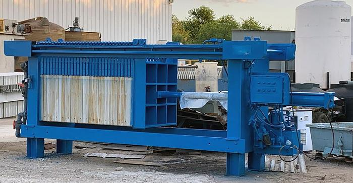 Used FP-44: Used 25 cu. ft. Durco brand Filter Press