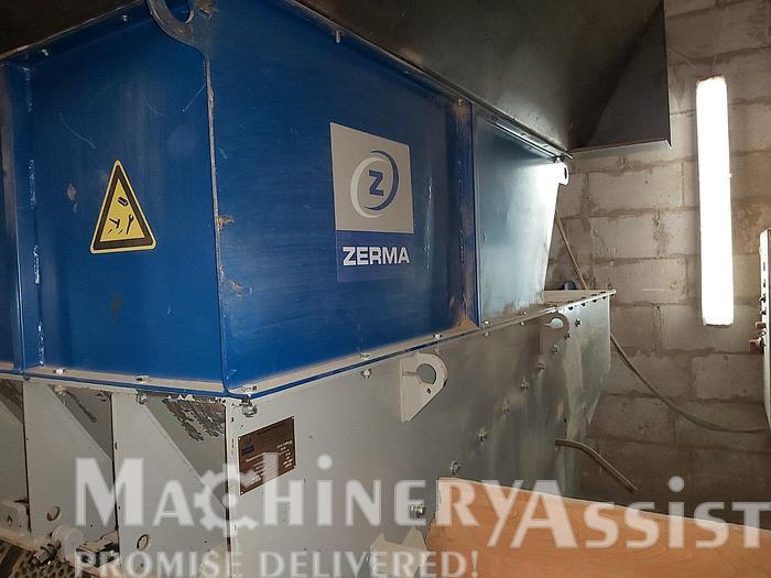 Used 2015 AMIS ZERMA ZWS 1100 shredder and granulator