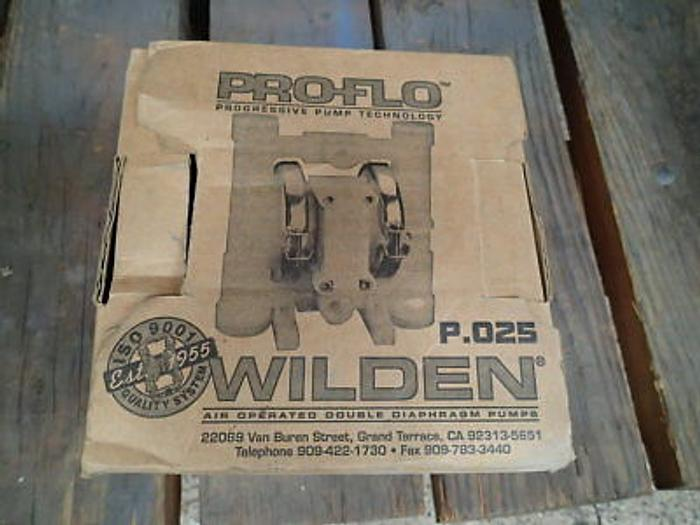 Wilden P.025 Proflo Air Operated Polypropylene Double Diaphragm Pump-New