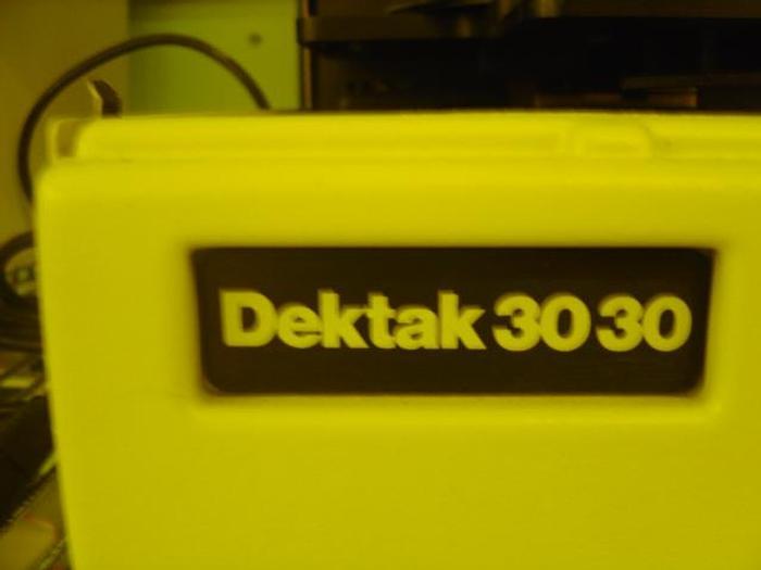 Used Dektak  3030 & Dektak 3030 ST Surface Profiler