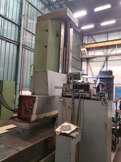 1980 Table type boring machine   TOS WHN13.8A