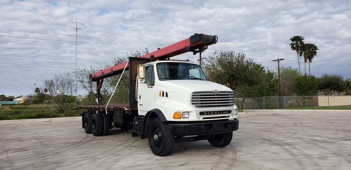 Nice Low Miles 2003 Sterling Acterra Flatbed Roofing