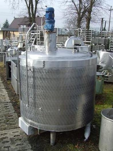 Używane Zbiornik procesowy 1000 L