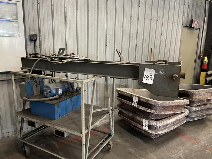 Used 2002 INDUCTOTHERM LINING PUSH OUT DEVICE
