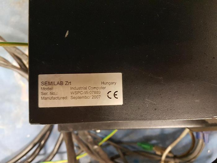 Semilab ZRT  WT-2000PV Wafer Scanner Life Time Tester