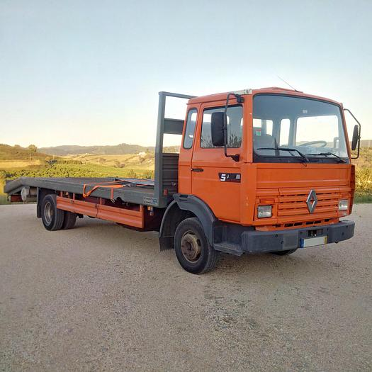 Used 1992 RENAULT Midliner S120 tow truck