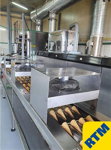 Used Rolled Wafer Cone Oven