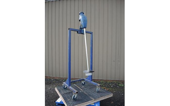 USED CLAMP-ON AIR MIXER, VARIABLE SPEED