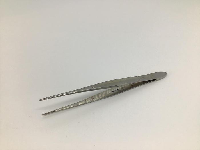 Used Thackray iris forcep straight silcock 100mm