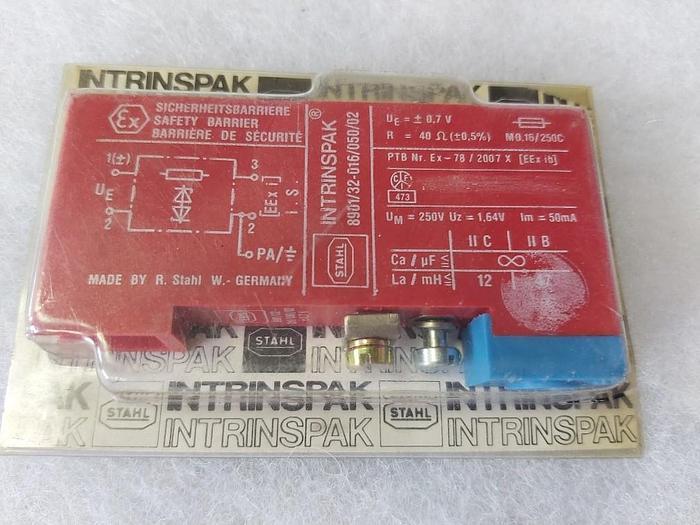 Sicherheitsbarriere, Intrinspak, 8901/32-016/050/02,Eex, R. Stahl,  neu