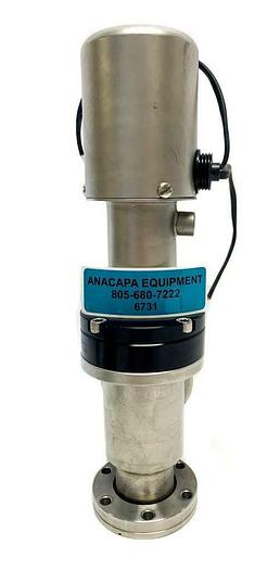 Used MDC High Vacuum Pneumatic Right Angle Elastomer Sealed Valve (6731)W