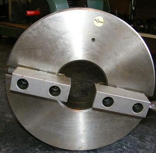 "15"" 2-jaw Self Centering Rohm Chuck, Plain Back 1508"