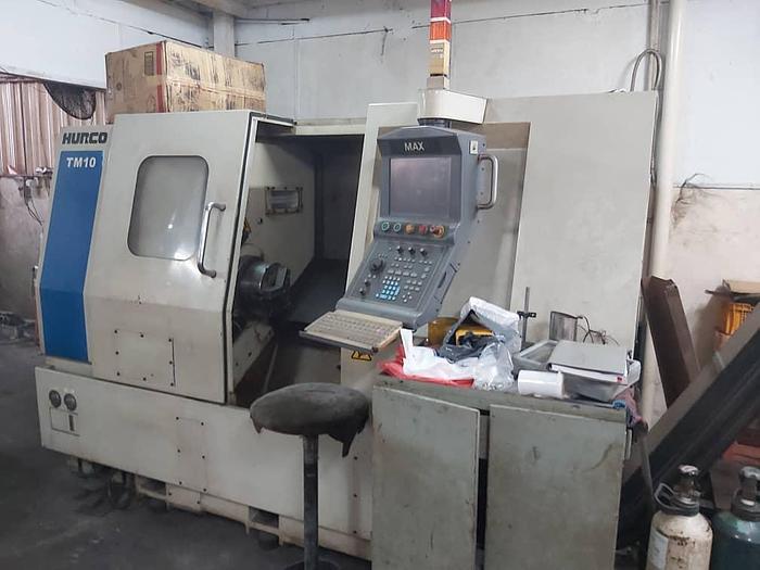 Used 2007 HURCO TM10 CNC TURNING LATHE MACHINE