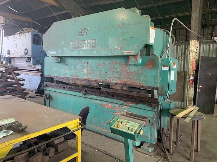 Used PIRANHA 200T-12 GEN II -Hydraulic CNC Press Brake 200 Tons x 12 Ft.  #5712