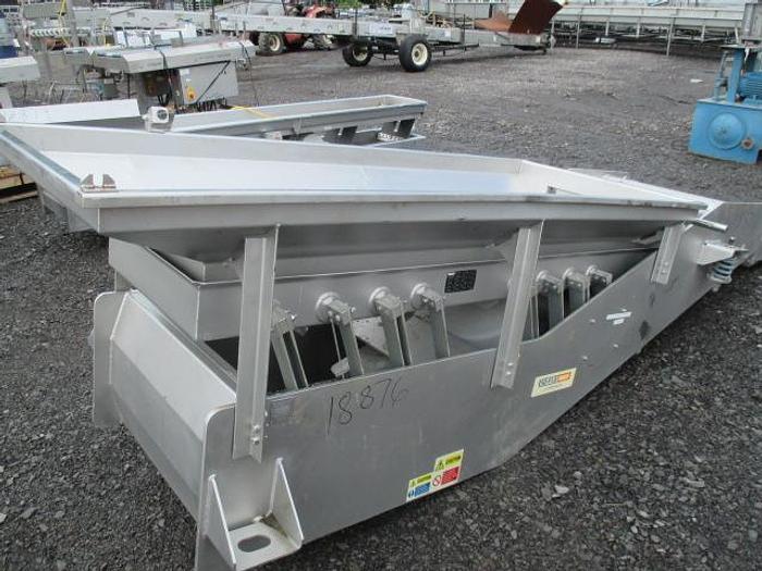 Used KEY TECHNOLOGY Vibratory Conveyor; Md#434589-1
