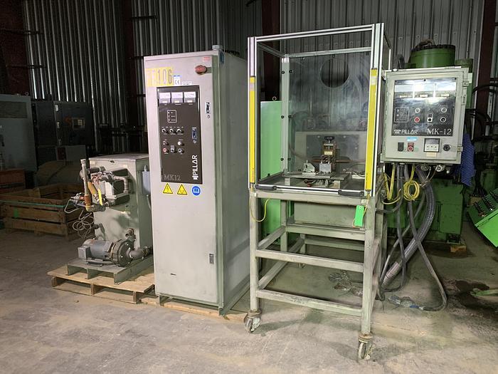 Used 30 KW, Pillar MK-12 Induction Hardening Machine; S/N 3610