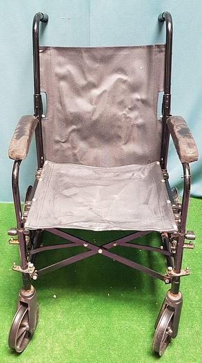 Gebraucht RS Leichtgewichtrollstuhl leichter faltbarer Rollstuhl