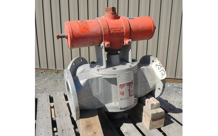 "USED DIVERTER VALVE, 6"" DIAMETER, ALUMINUM"