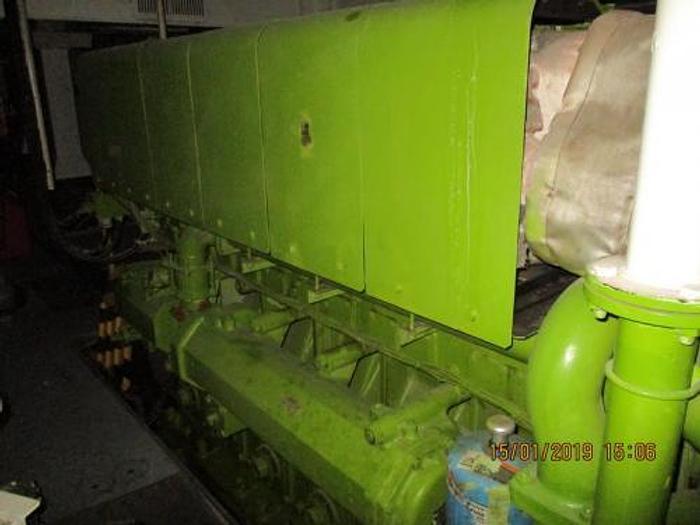 1.92 MW 2005 Used Yanmar 6EY26 Diesel Generator