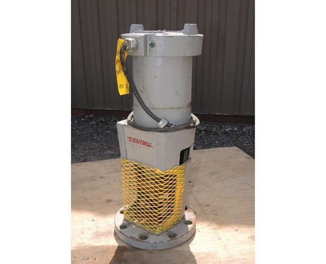 Used USED LIGHTNIN TOP ENTRY MIXER, MODEL: N 33G33, 0.33 HP