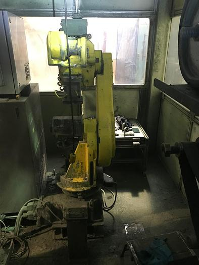 ACME/FANUC ROBOTIC POLISHING CELL WITH FANUC M710IB/45 ROBOT